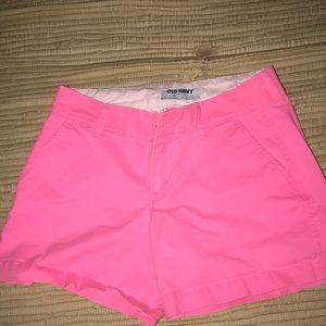 Old Navy Hot pink shorts